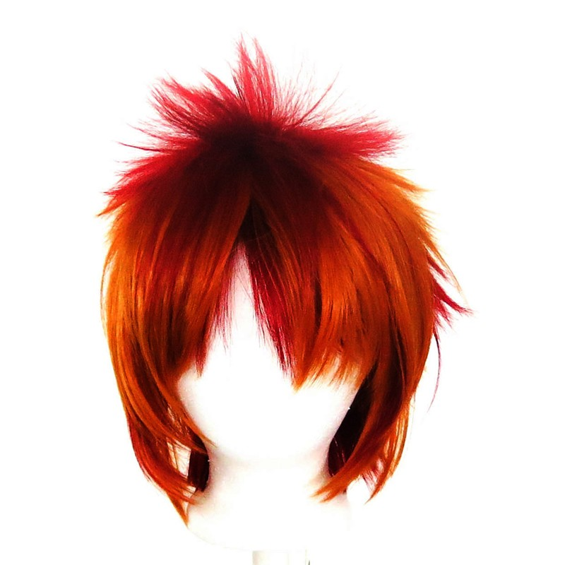 Sora - Crimson Red and Copper Brown Layered