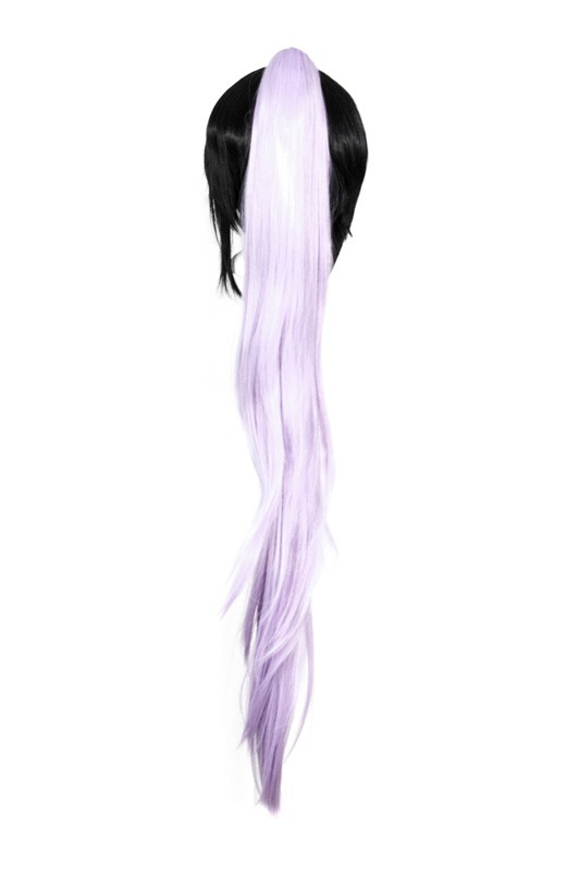 Long Straight Clip - Lavender Purple