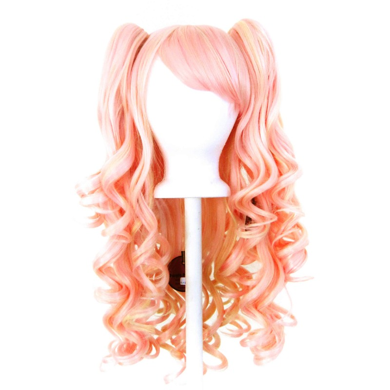 Meiko - Cotton Candy Pink and Flaxen Blond Mixed Blend
