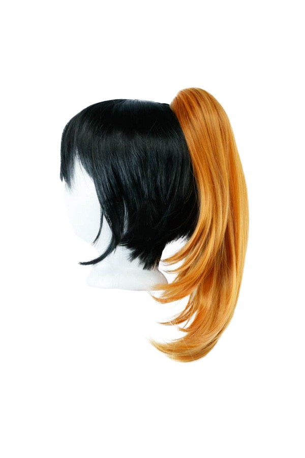 Short Straight Clip - Pumpkin Orange