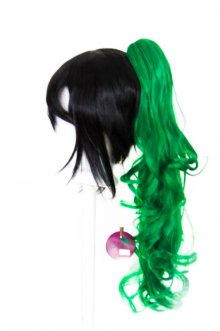 Loose Curly Clip - Emerald Green